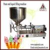 Máquina de rellenar neumática para la crema
