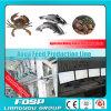 3-5 planta de flutuação da alimentação dos peixes do Aqua da alimentação dos peixes do T/H automaticamente