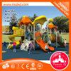 Corrediça ao ar livre do campo de jogos dos miúdos ao ar livre novos do campo de jogos
