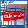 Impression imprimée de bannière de barrière de tissu de bannière de vinyle de la publicité extérieure