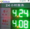 El RF controla la visualización al aire libre de la gasolinera de Digitaces del precio del LED