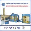 Machine automatique de bloc de machine à paver du ciment Qty10-15