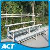 Banco de aluminio de 3 filas para el blanqueador del estadio