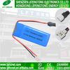 Блок батарей иона лития высокия темпа 30c 7.4V 3.7V/850mAh перезаряжаемые на электрические Bikes 703048
