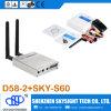 D58-2 5.8GHz 32CH Wireless AV Fpv Diversity Receiver + Sky-N500 500MW 32CH a/V Transmitter Compatible с Fpv Quadcopter