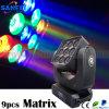 9PCS*15W LED Matrix Moving Head