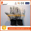 화포 면 산업 안전 일 장갑 Dcd308가 PVC에 의하여 점을 찍었다