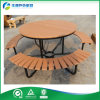 SGS/TUV Certified Wooden Picnic TableおよびBenchのUmbrella Hole (FY-559H)の庭TableおよびBench