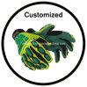 Zona personalizzata del Velcro del PVC