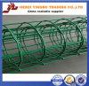 Heiße Verkaufs-grüne Farbe des Stahl-Fence-012 installieren Aluminiumzaun