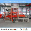 Maquinaria concreta da máquina de fatura de tijolo do material de construção automático