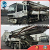37m Used 8*4-LHD-Drive Sany Originale-White 2007 Pump Isuzu Chassis Truck