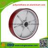 頑丈なアルミニウムコアPUの足車の車輪