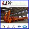 60 di tonnellata 3 dell'asse del caricatore rimorchio basso semi (asse di FUWA axle/BPW facoltativo)