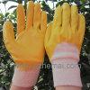NBR Handschuh-beinahe gelbes Nitril tauchte Handschuh-Sicherheits-Arbeits-Handschuh ein
