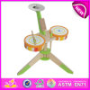 Самое лучшее Mini Wooden Drum Toy для Kids, Novelty Hot Sale Drum Toys для Children, Music Toy Wooden Toy Drum Toy для Baby W07j025