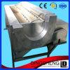 Nettoyage industriel de pomme de terre de balai d'utilisation et machine d'écaillement