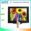 De alta calidad de 8 pulgadas monitor de la pantalla táctil