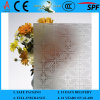 3-8mm Clear Rh-5 Acid Etched Patterned Glass mit CER u. ISO9001