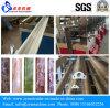 Linha laminada UV de mármore máquina da afiação do perfil do PVC da extrusora