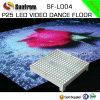 Diodo emissor de luz portátil Dance Floor do vídeo da tela P25 do diodo emissor de luz
