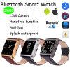 Relógio esperto do Wristband de couro com a versão superior (DM08)