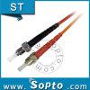 St a dos caras del APC a St milímetro Fiber Patch Cord (SPP-ST-ST-A-DM-XX-X)