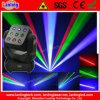 laser mobile léger de tête d'étape de disco de 1650MW RVB 3*3 Matrixlaser