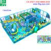 Campo da giuoco dell'interno per i capretti, sbarco di tema dell'oceano del labirinto dei bambini