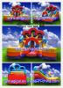 Interessante aufblasbare Kind-doppeltes Weg-Plättchen (MCA-108)