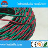 PVC Insulation Twisted Pair Rvs Cable do verde e do Red