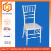 Polycarbonate por atacado Resin Chiavari Chair Bate-Down em White Color