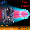 19PCS Bee Eyes LED Moving Head Light