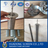 pantalla ranurada perforada 10-50micron del tubo Drilling para el filtro de arena de petróleo