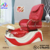 2015 Color rojo Foot SPA Pedicure Chair para Beauty Kzm-S123-13
