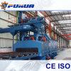 Stahl der Qualitätserstellt stahlgranaliengebläse-Maschinen-Q69 Reinigungs-Maschine ein Profil