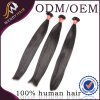 충분히 그리고 Black Color Virgin Remy Peruvian Human Hair