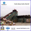 Hydraulic horizontal Waste Paper Automatic Baler con el PLC