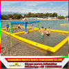 Do parque inflável da água do Aqua corte de voleibol inflável da água