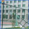 Alambre de malla de PVC Cadena Coated Cerca de la conexión