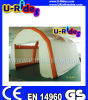 Welding a temperatura elevata Inflatable Air Tent Weatherproof con Anchor Rings