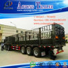 Schlussteil/Viehbestand halb einzäunend, Stange-LKW-Schlussteil halb transportieren