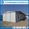 Atelier léger préfabriqué de structure métallique pour le bureau provisoire/vivre/construction