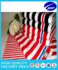 Хлопка Comed покрашенное пряжей напечатанное полотенце 100% пляжа