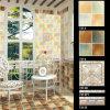 Azulejo esmaltado rústico interior de la frontera de la pared del suelo de la cocina de cerámica del cuarto de baño
