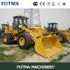 5.0 tonnellate Zl50g Wheel Loader 5000kg con Grab Fork