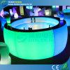 Top에 Glass를 가진 조명된 LED Bar Counter