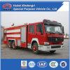 Nuevo coche de bomberos de HOWO para Aiport