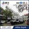 600m große Bohrloch-Ölplattform-Maschinen-einfaches Bewegen mit Truck Base