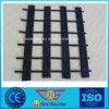 PVC 코팅 포장에 의하여 뜨개질을 하는 폴리에스테 아스팔트 증강 Geogrid 80kn